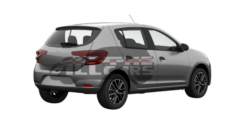 2018 Renault Sandero patent image rear angle