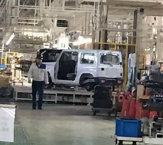 2018 Suzuki Jimny spotted without camouflage