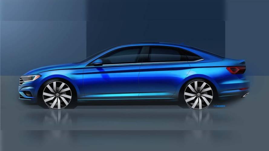 2019 VW Jetta profile teaser