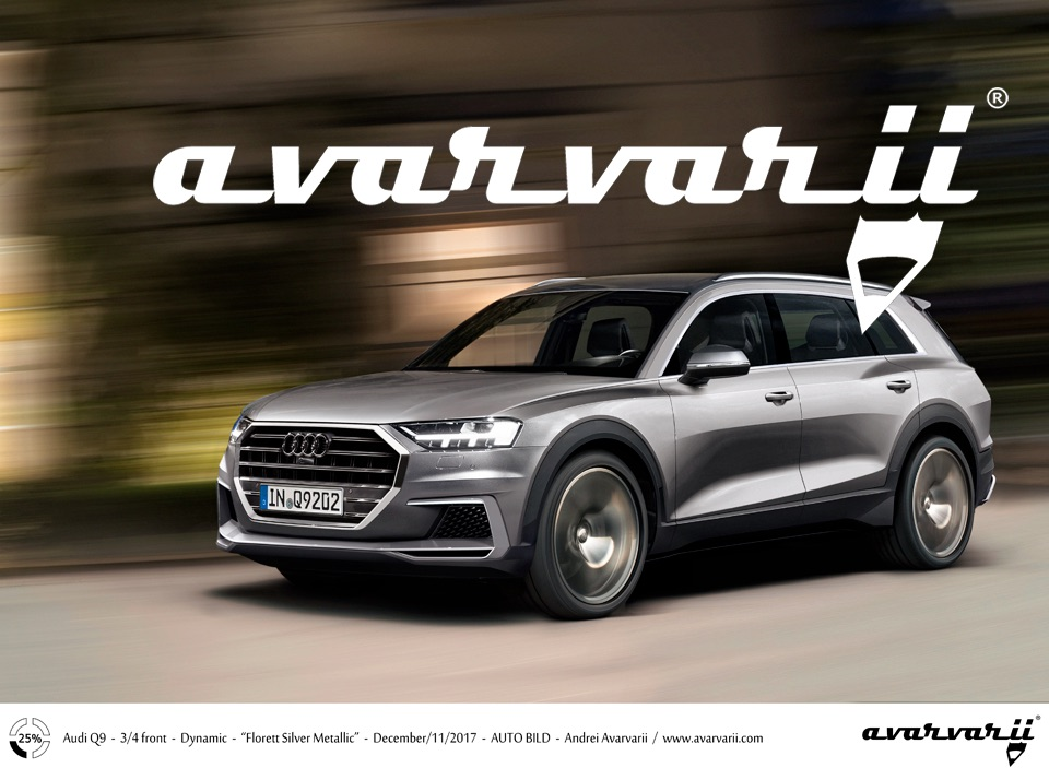 Audo Q9 >> Audi Q9 Bmw X7 Rival Full Size Suv Imagined Rendering