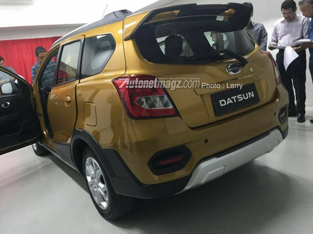 Purported Datsun GO Cross images surface online