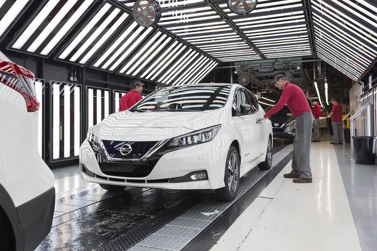 Euro-spec 2018 Nissan Leaf UK production