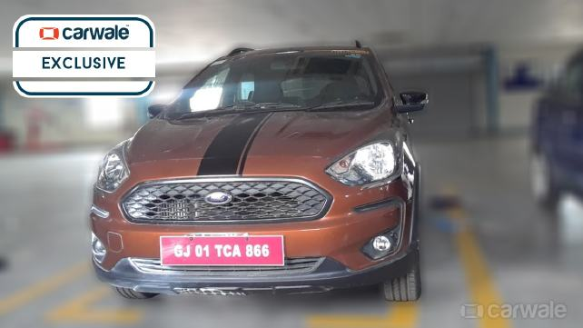 Ford Figo Cross (Ford Figo Freestyle) front spy shot