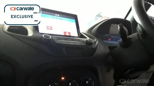 Ford Figo Cross (Ford Figo Freestyle) interior spy shot