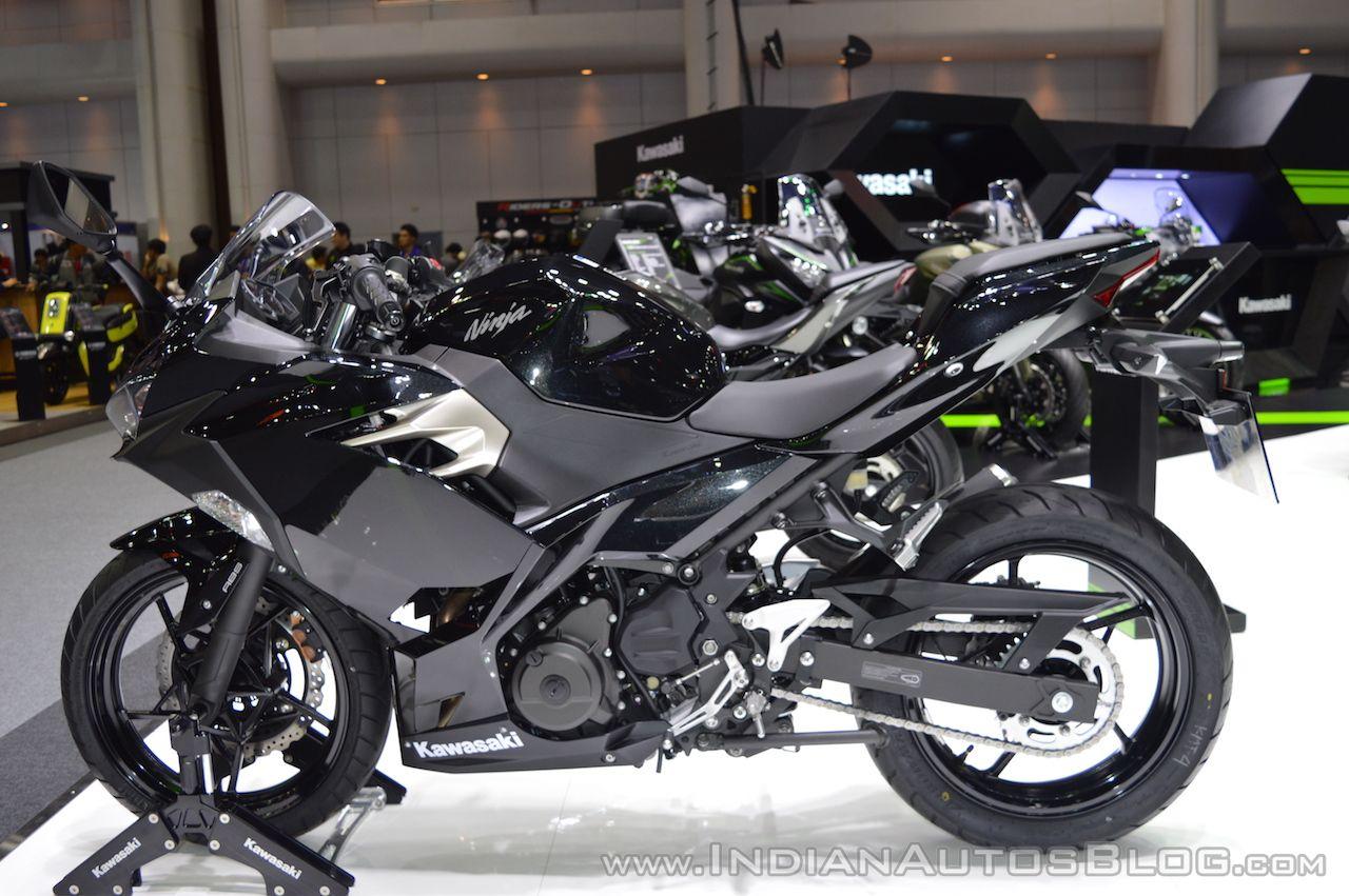 Kawasaki Ninja 400 Krt Edition Metallic Black At 2017 Thai Motor Expo