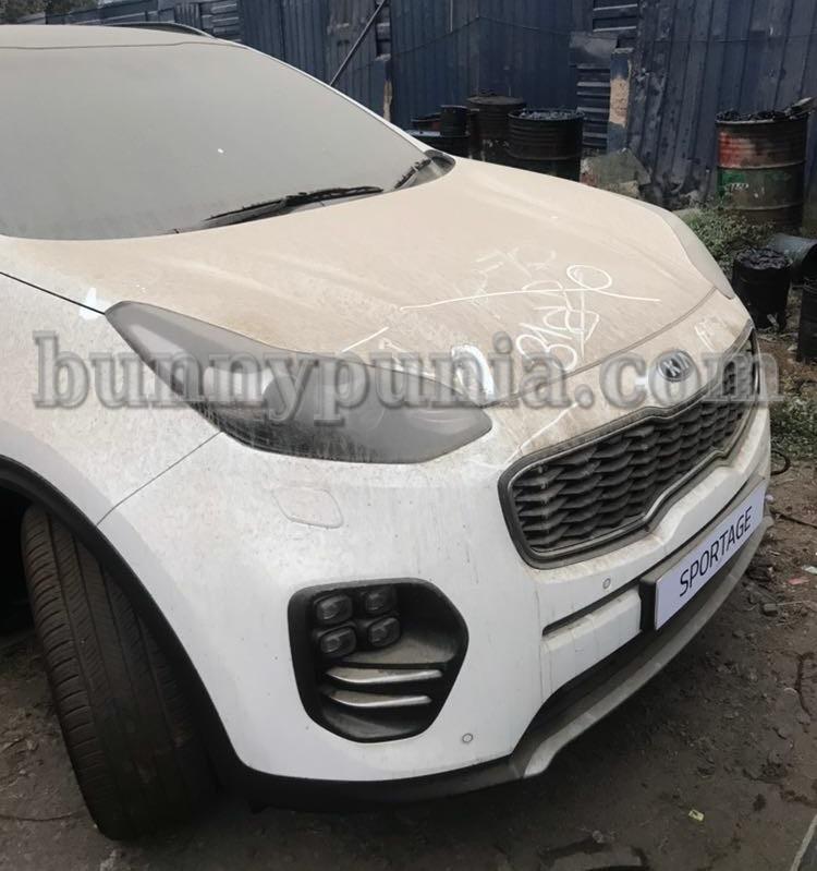 Kia Sportage spotted in India
