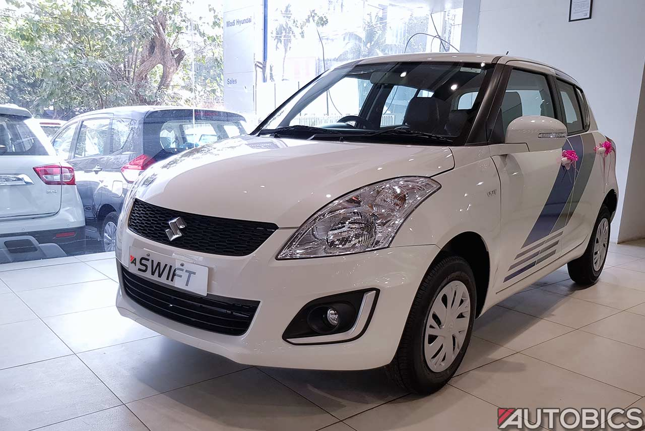Maruti Swift Limited Edition front three quarters