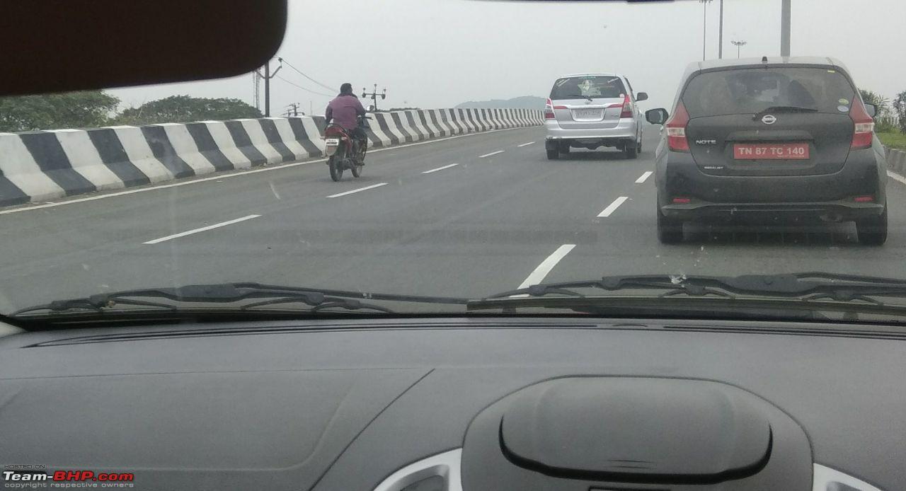 Nissan Note rear India spy photo