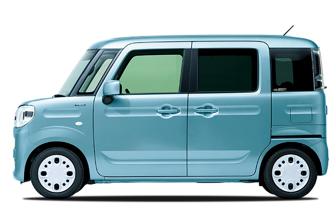 Suzuki Spacia side view