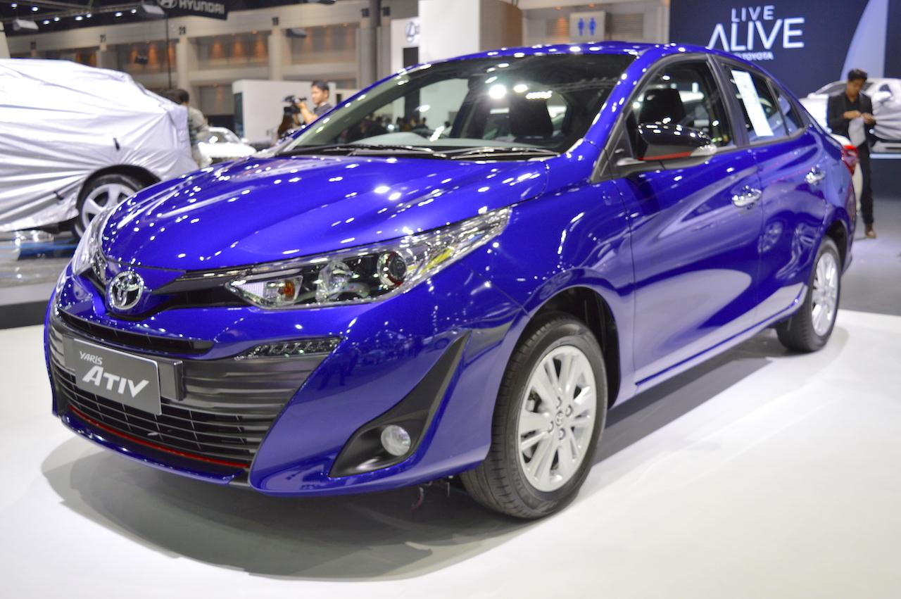 Yaris Sporty 2017 >> Toyota Yaris Ativ S at showcased at 2017 Thai Motor Expo