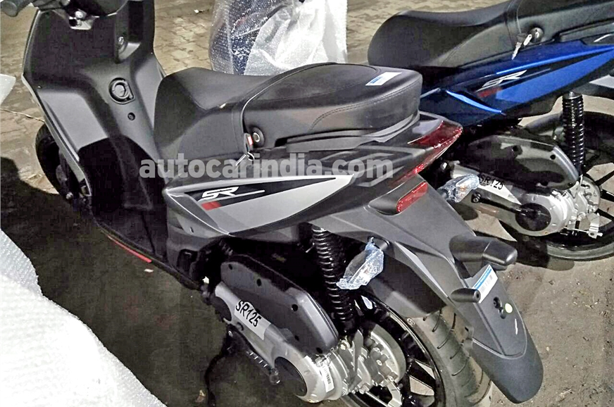 aprilia sr 125 to be launched in india in few weeks report. Black Bedroom Furniture Sets. Home Design Ideas