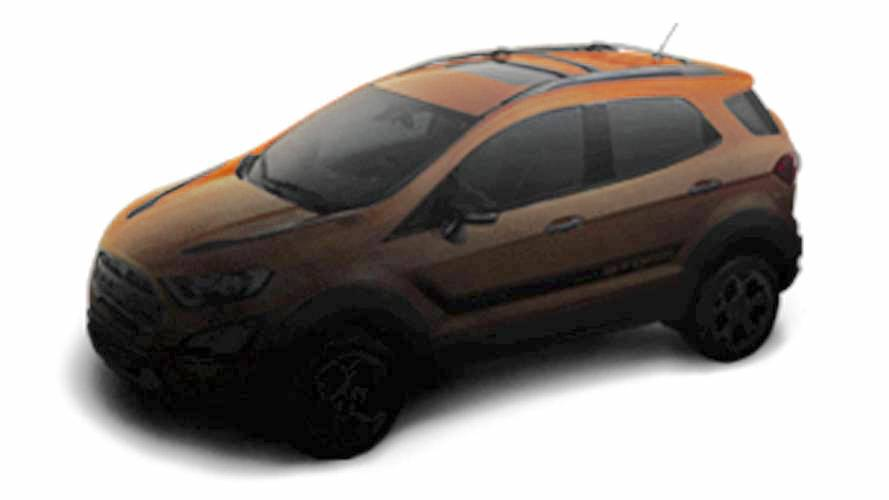 Ford EcoSport Storm enhanced teaser