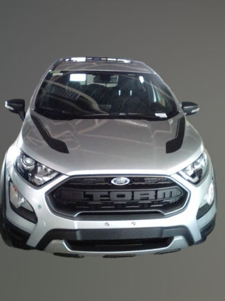 Ford EcoSport Storm front elevated view spy shot