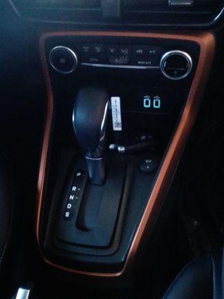 Ford EcoSport Storm interior highlights spy shot