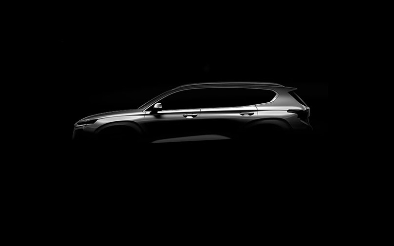 Fourth generation Hyundai Santa Fe teaser
