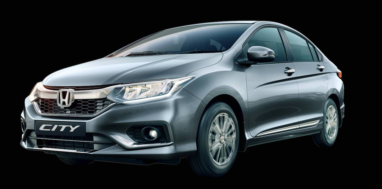 Honda City 20th Anniversary Edition front three quarters