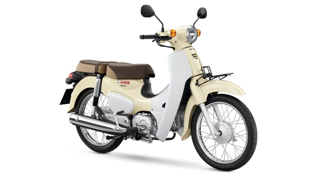 Honda Super Cub White press shot
