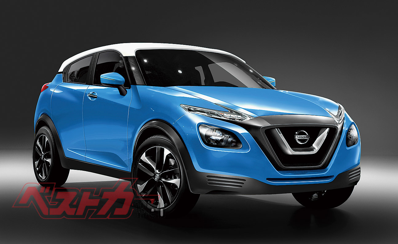 next gen nissan juke to arrive in august report. Black Bedroom Furniture Sets. Home Design Ideas