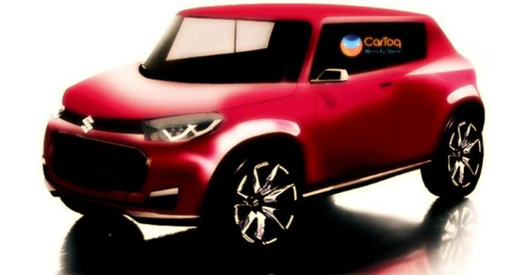 Production Maruti Future S red rendering