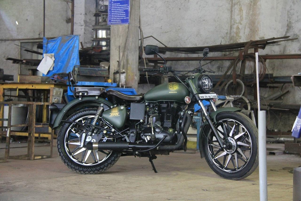 Royal Enfield Electra 350 86 Mania By Maratha Motorcycles