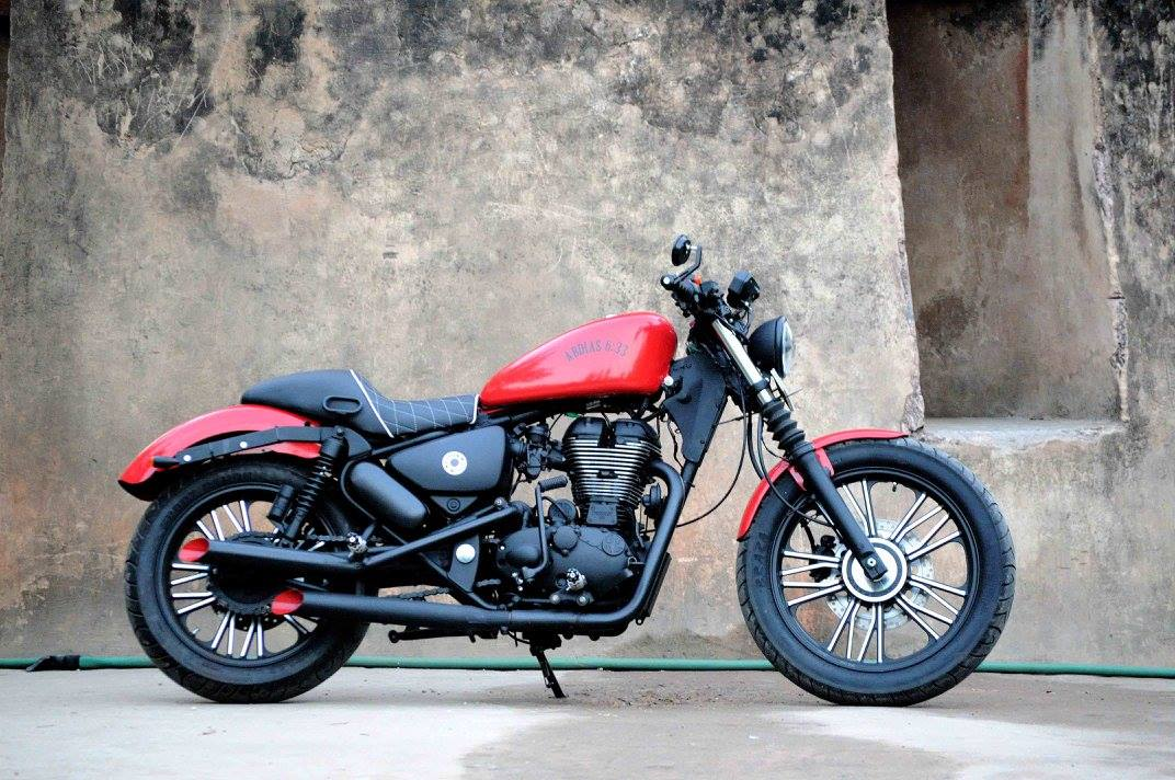 Royal Enfield Thunderbird 350 Abdias 6 33 By Puranam Designs