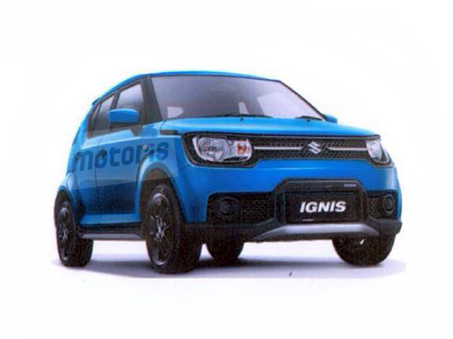 indian built suzuki ignis se leaked ahead of launch in. Black Bedroom Furniture Sets. Home Design Ideas