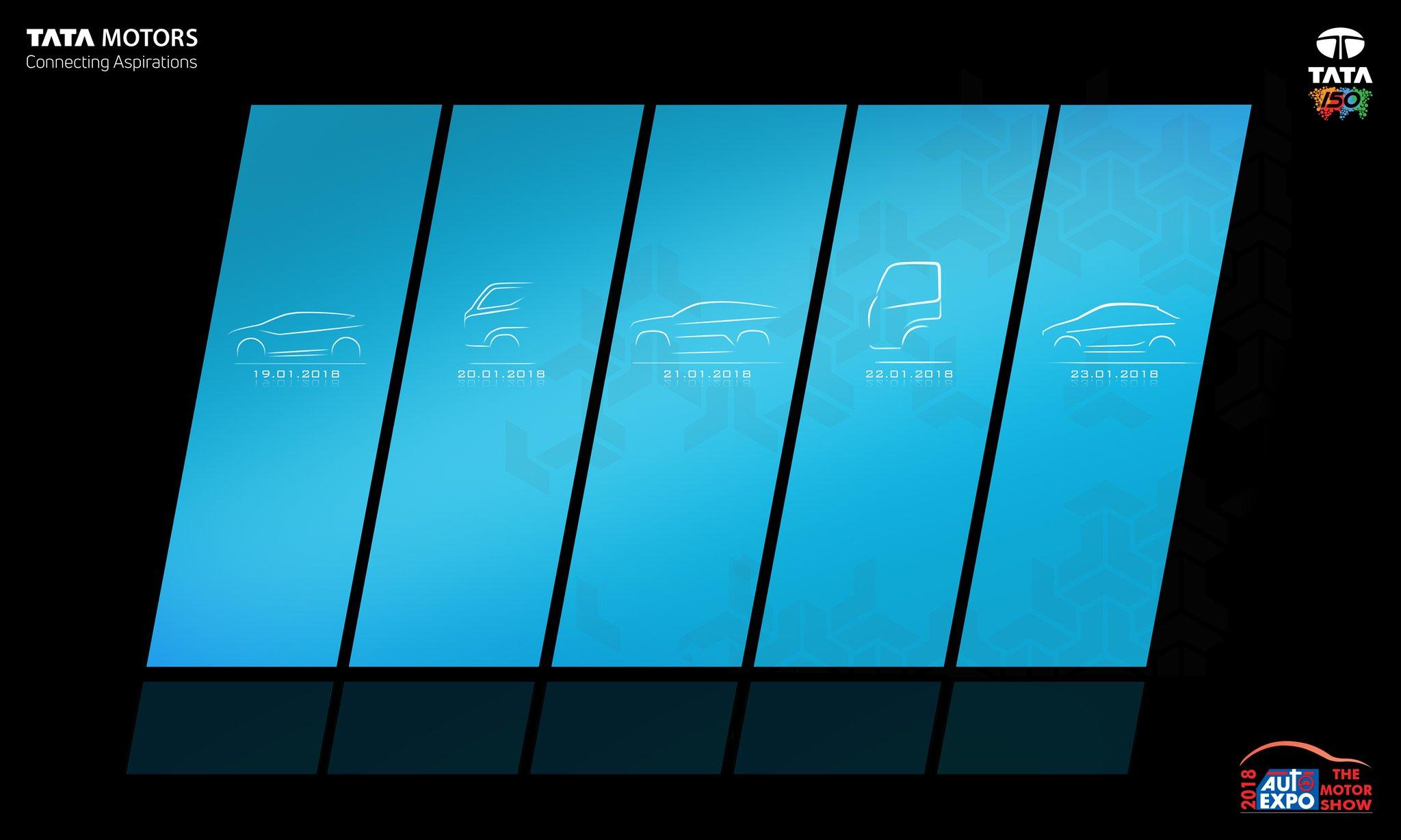 Tata Motors Auto Expo 2018 line-up teaser