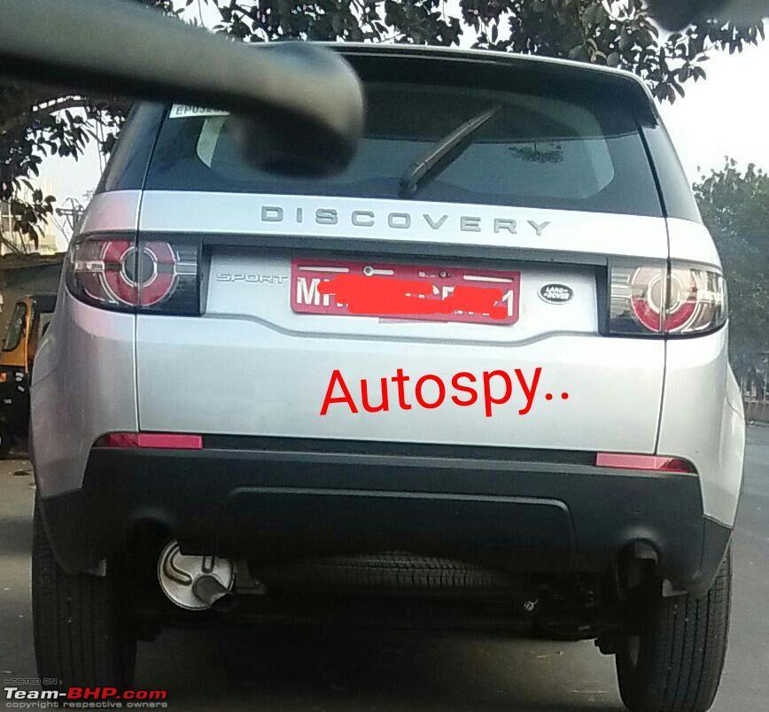 Tata Q501 rear spy shot
