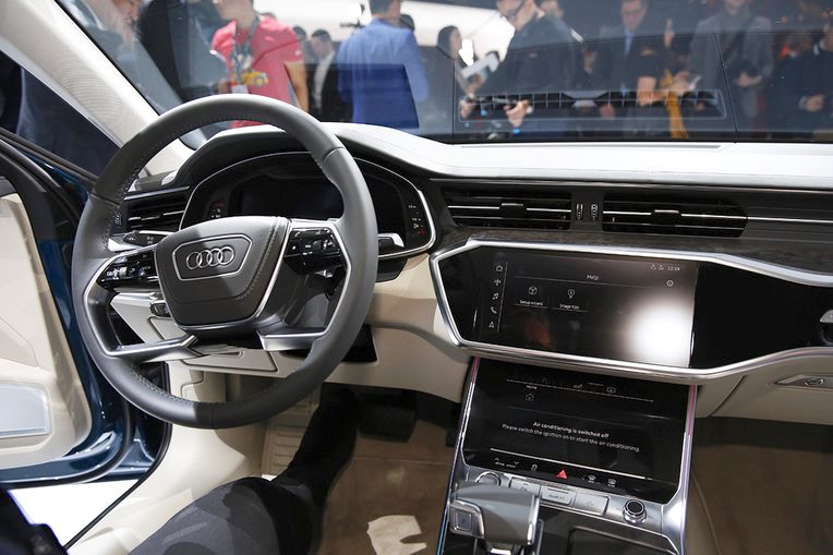 2018 Audi A6 Interior At 2018 Geneva Motor Show