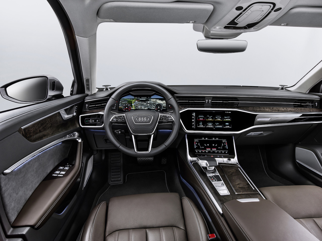 2018 Audi A6 interior dashboard