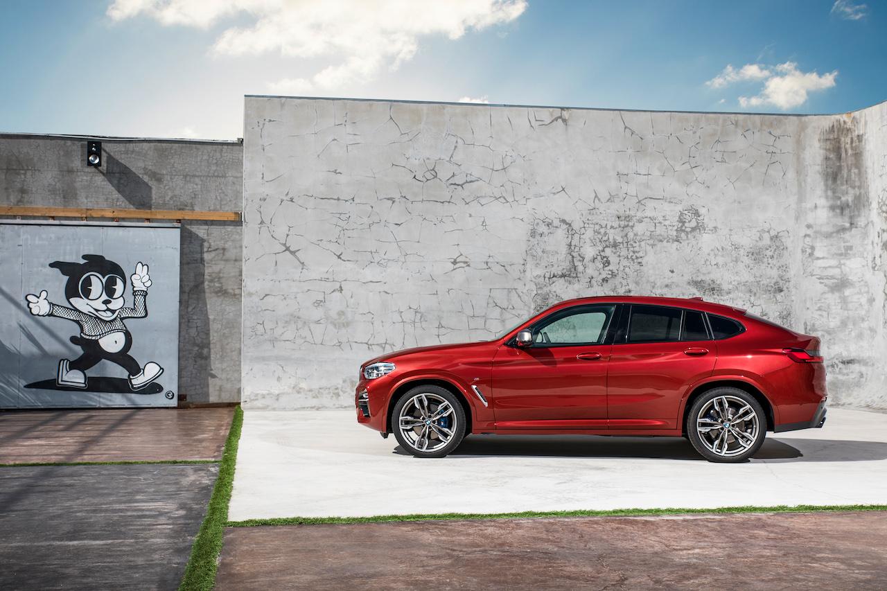 2018 BMW X4 (BMW G02) profile