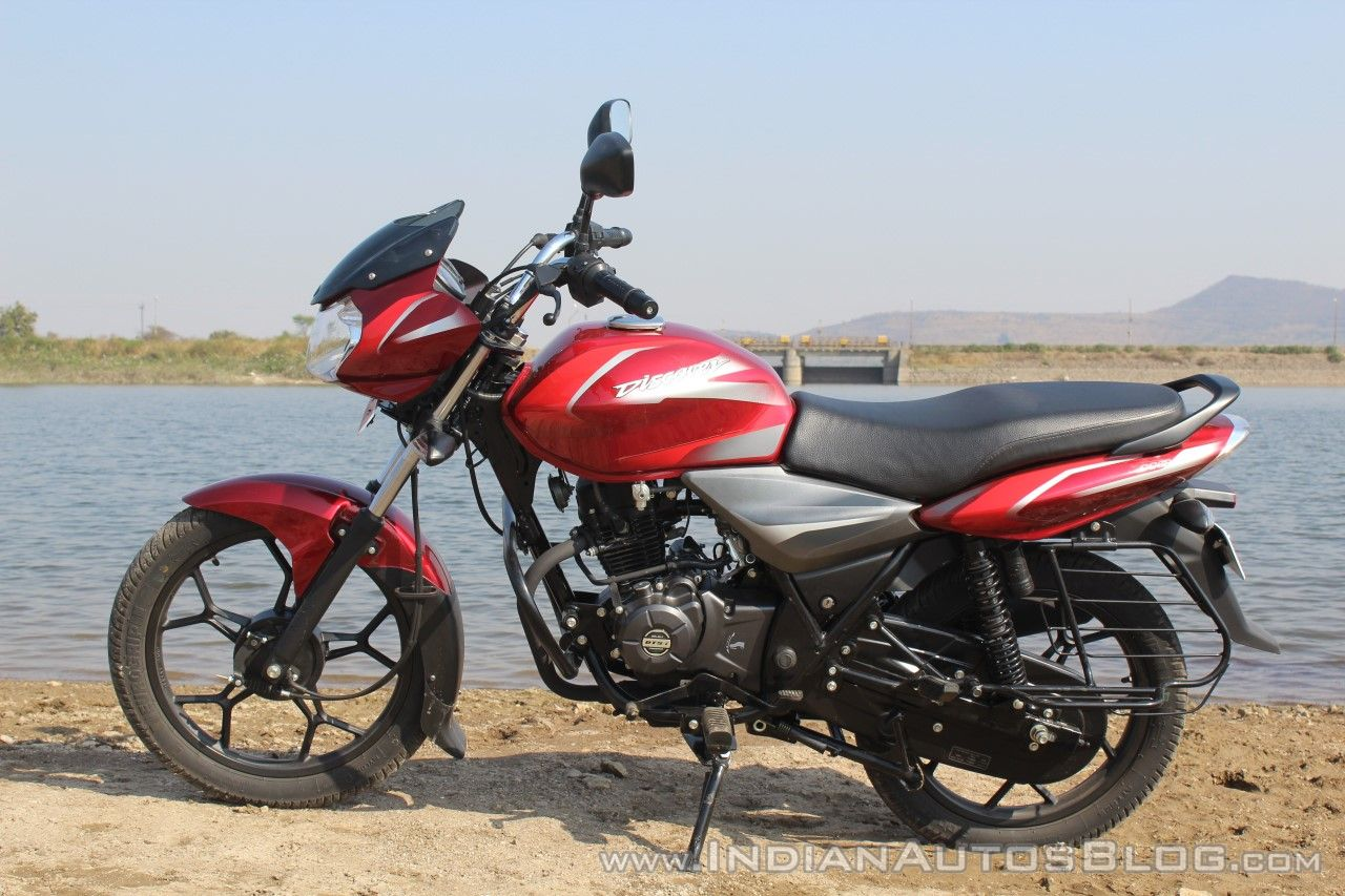 2018 Bajaj Discover 110 left side first ride review