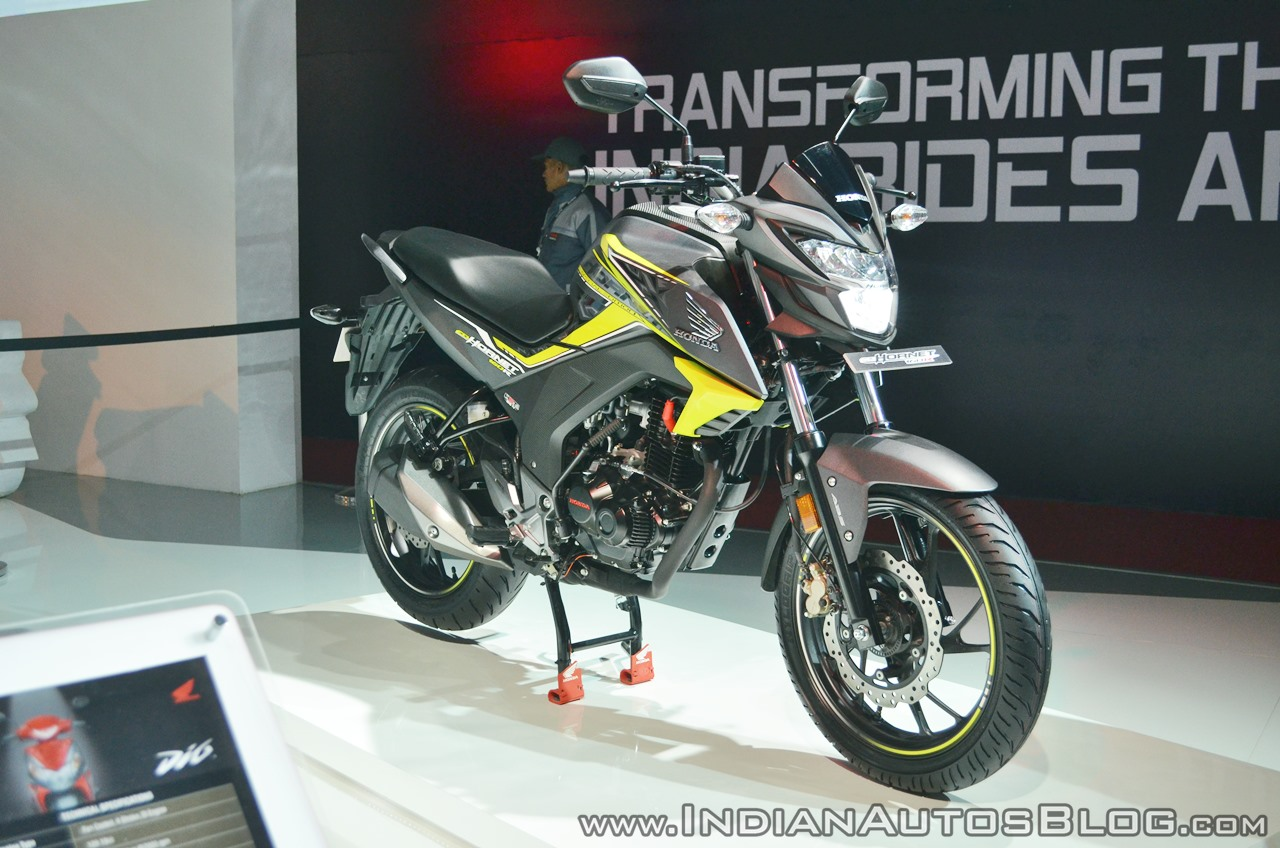 2018 honda cb hornet 160r prices announced starts at inr. Black Bedroom Furniture Sets. Home Design Ideas
