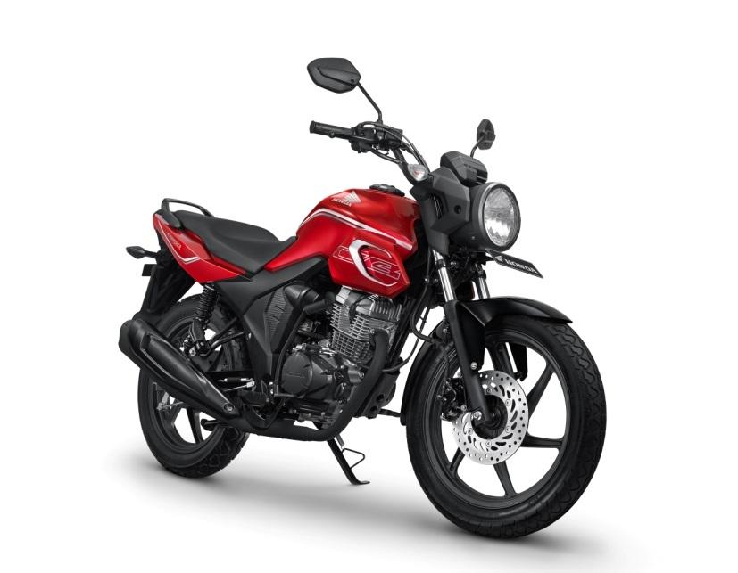 2018 Honda CB150 Verza Press Red Alloy