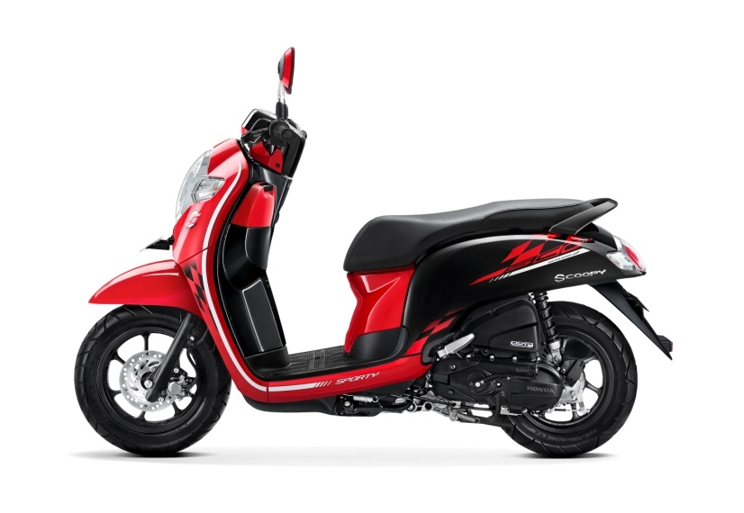 2018 Honda Scoopy Sporty Red launched