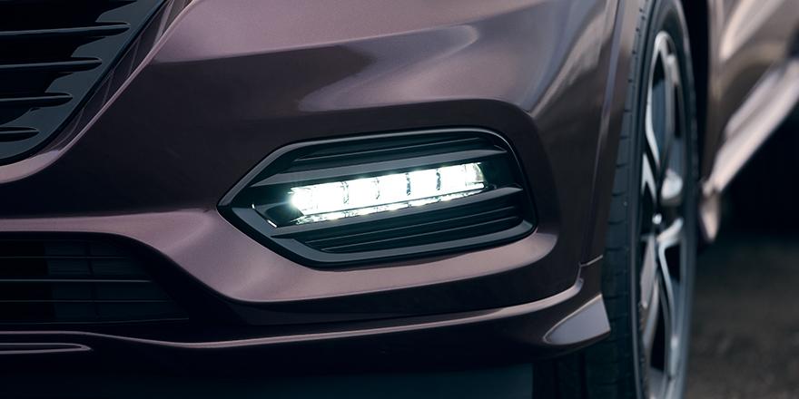 2018 Honda Vezel (2018 Honda HR-V) fog light