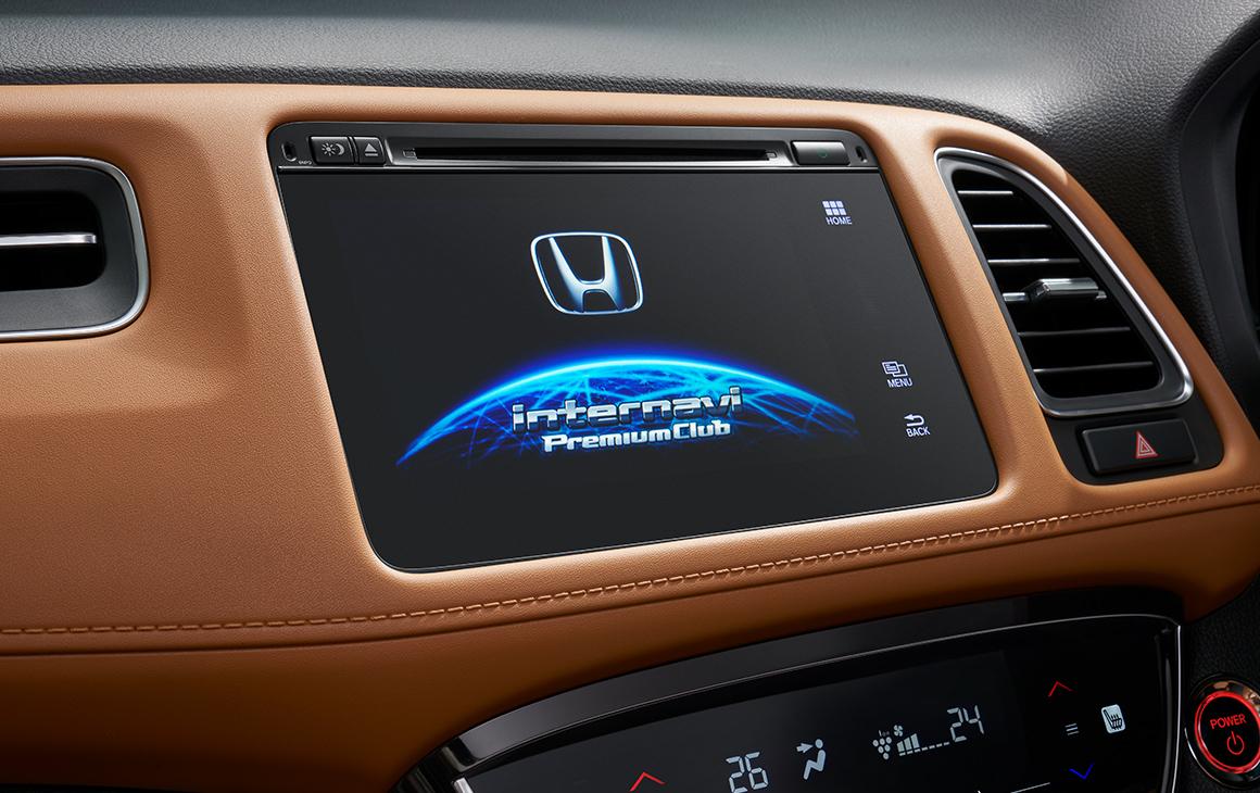 2018 Honda Vezel (2018 Honda HR-V) infotainment system