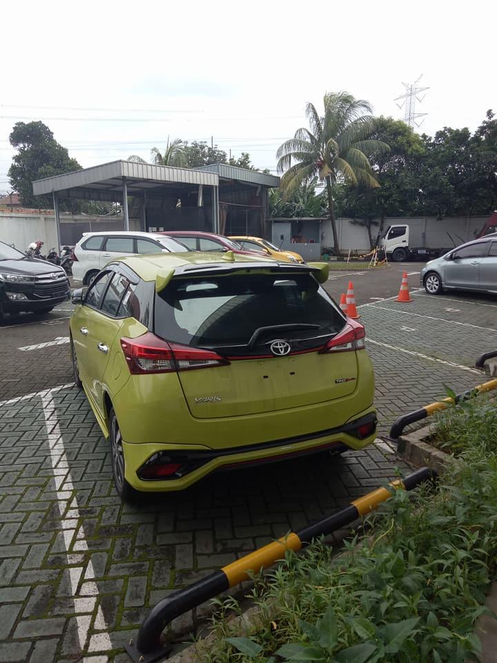 2018 Toyota Yaris TRD Sportivo (facelift) rear spy shot
