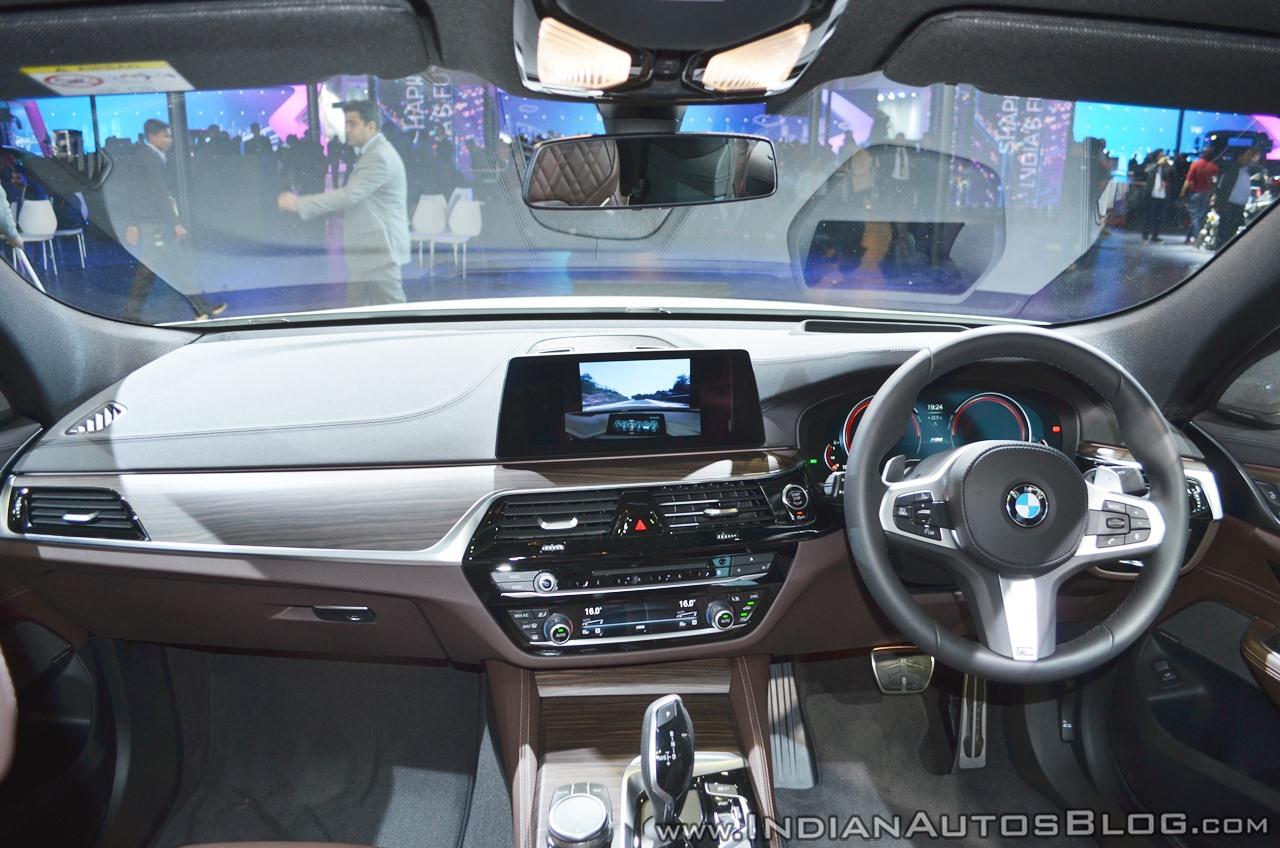 BMW 6 Series Gran Turismo Interior Dashboard At Auto Expo 2018