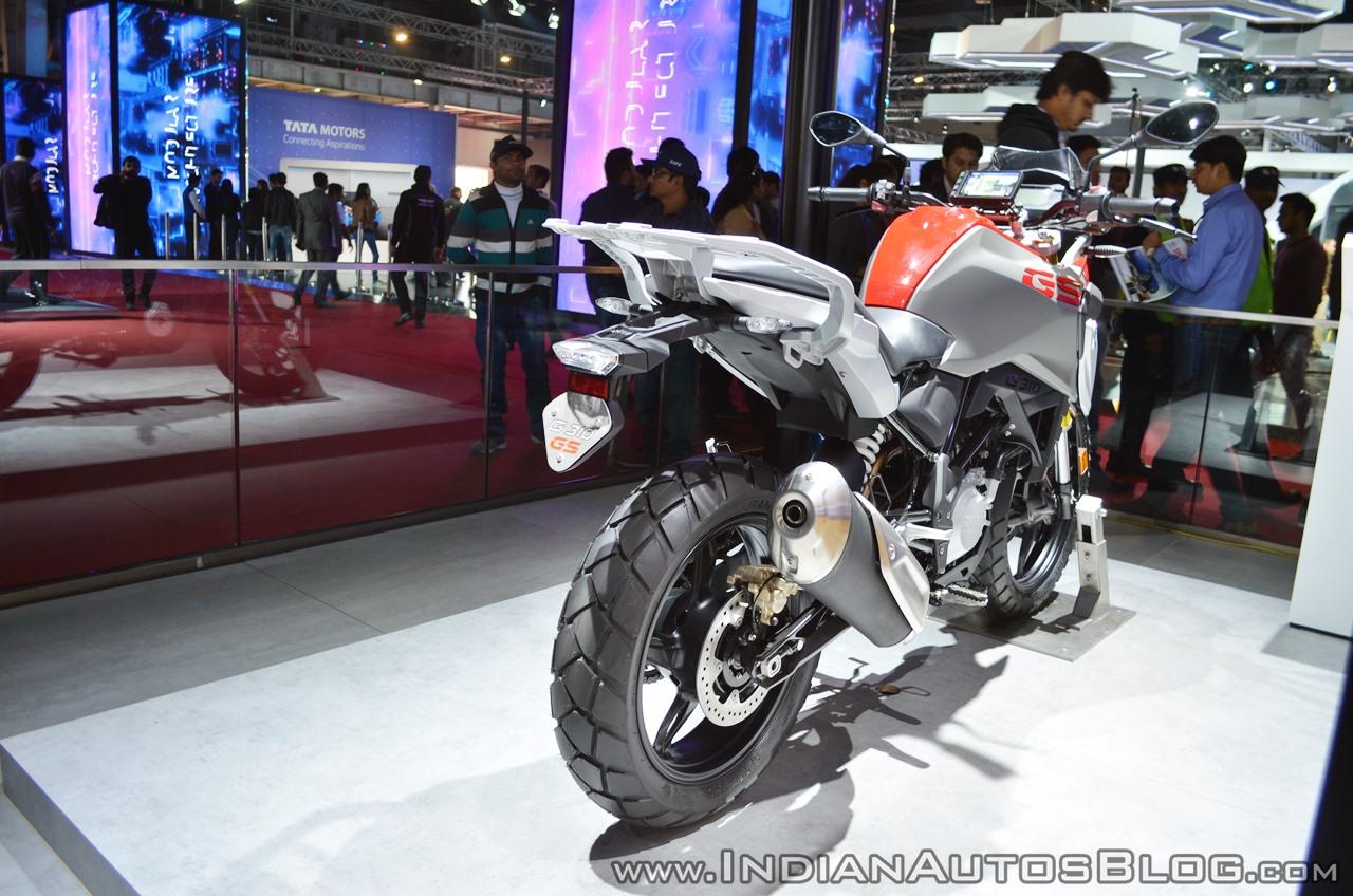 BMW G 310 GS adventure bike - Auto Expo 2018 Live