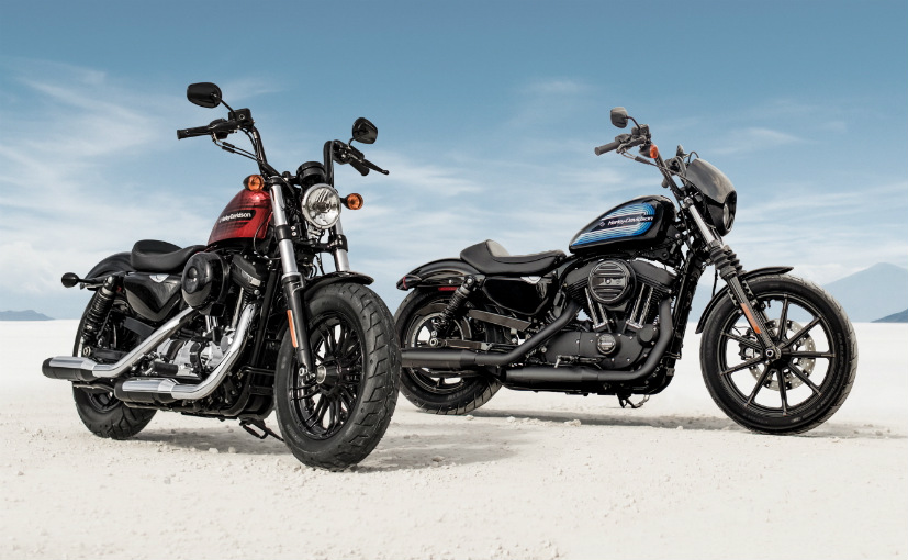 Harley-Davidson Iron 1200 and Harley-Davidson Forty-Eight Special press