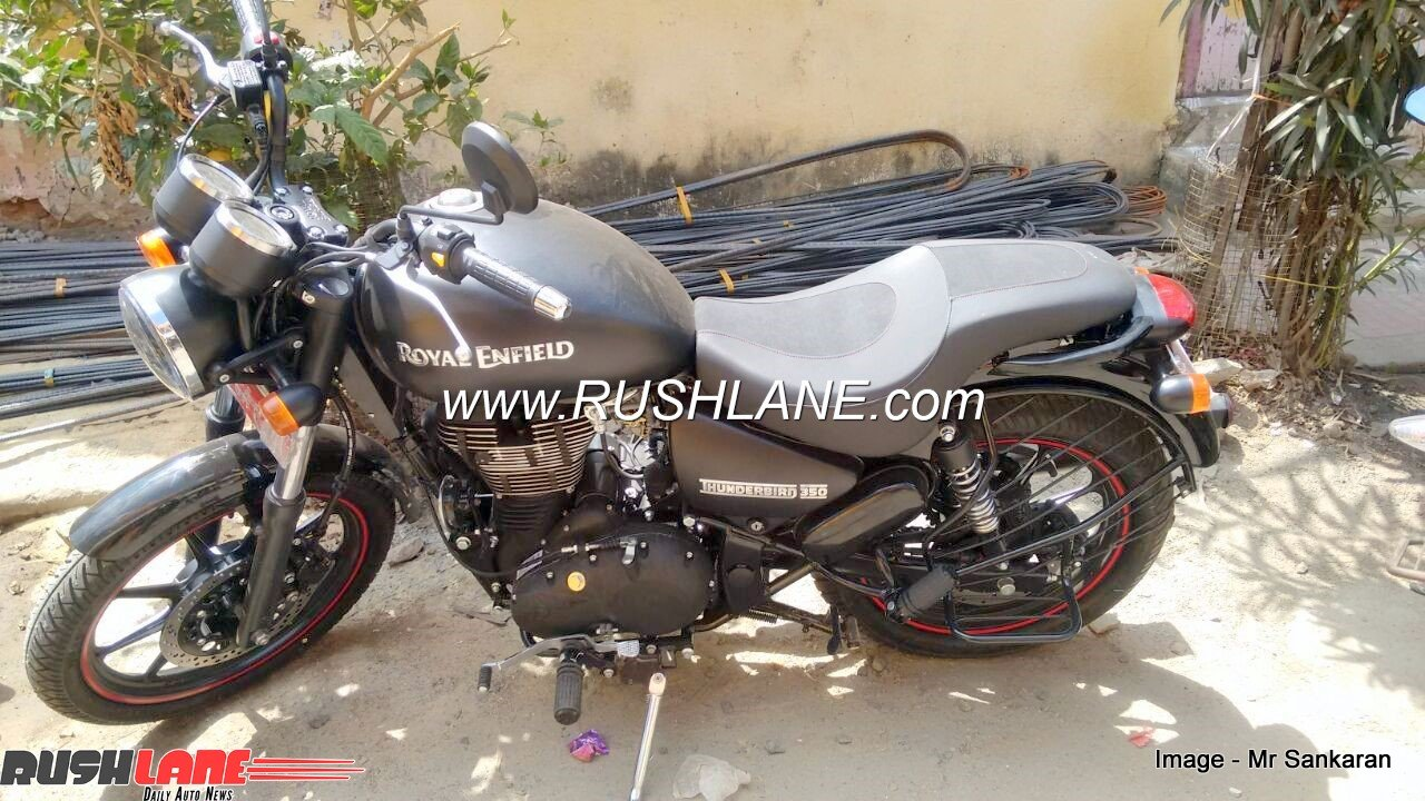Royal enfield thunderbird 350 converted to 350x for inr 20000