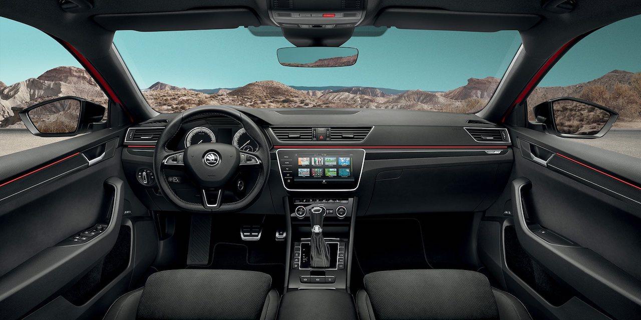 Skoda Superb Interior 2018 >> Skoda Superb Sportline interior dashboard