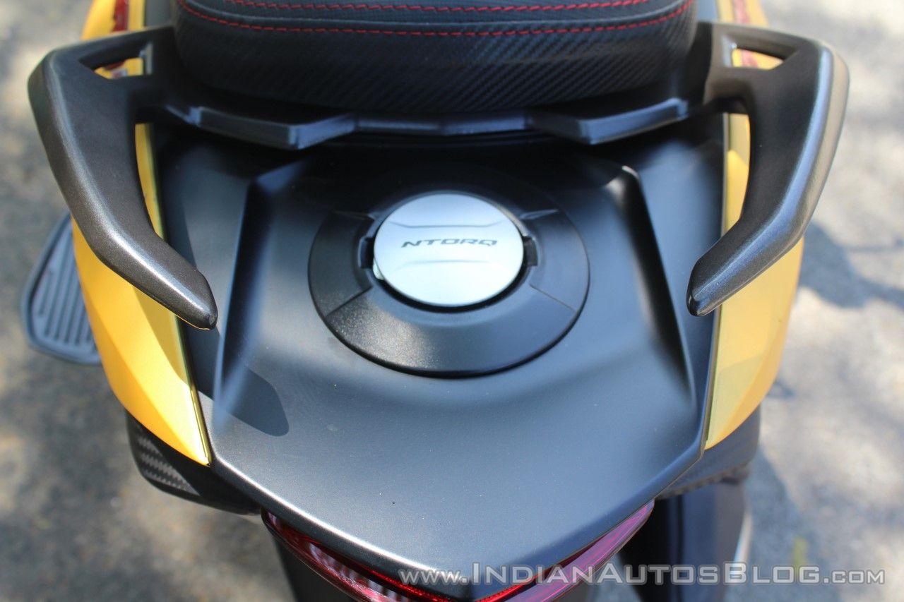 TVS Ntorq 125 fuel filler first ride review