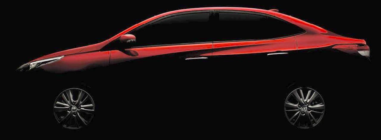 Toyota Vios (Toyota Yaris Sedan) Auto Expo 2018 teaser