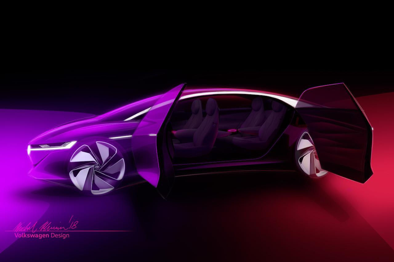 VW I.D. Vizzion exterior teaser