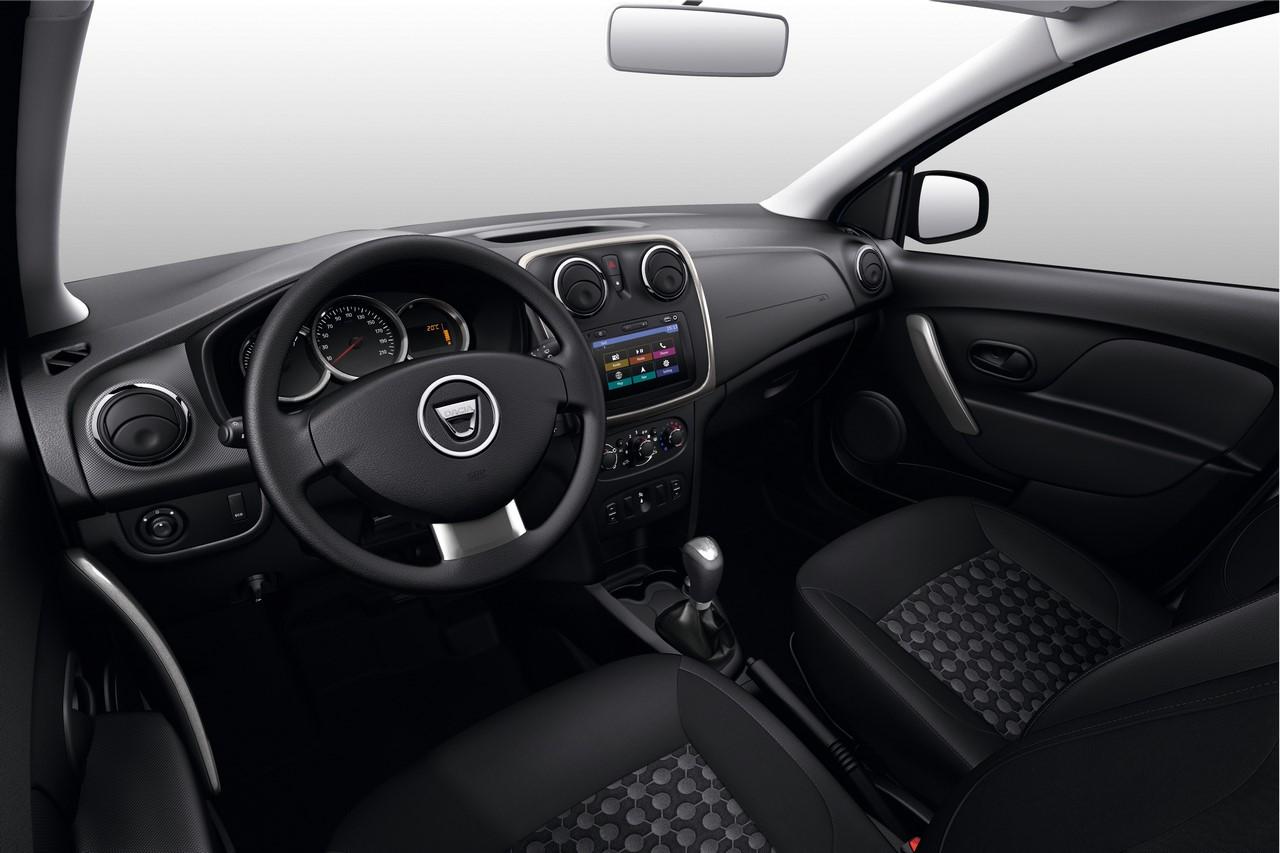2017 Renault Logan interior