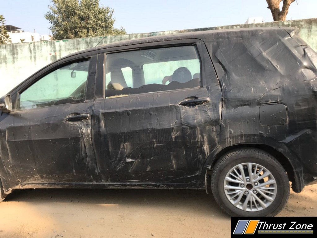 2018 Maruti Ertiga profile spy shot