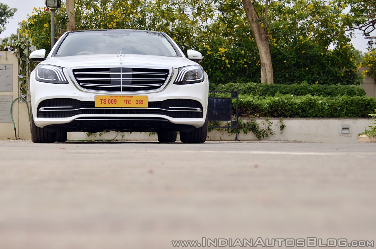 2018 Mercedes-Benz S-Class review test drive front low