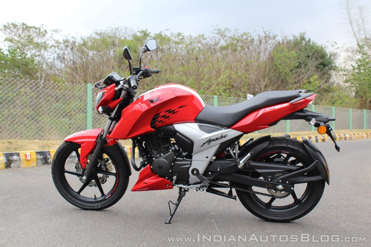 TVS Apache RTR 160 4V reaches 1 lakh unit sales in India